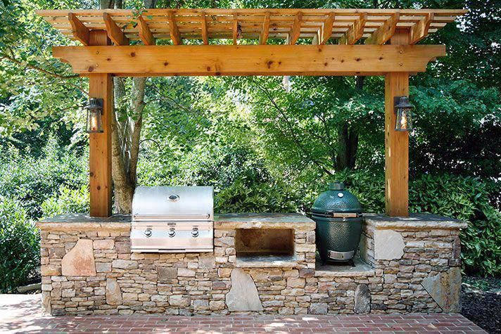 Excellent Outdoor Kitchen Countertops Information Is Readily Available On Our Web Pages Read More And Yo In 2020 Pergola Outdoor Kitchen Countertops Outdoor Kitchen