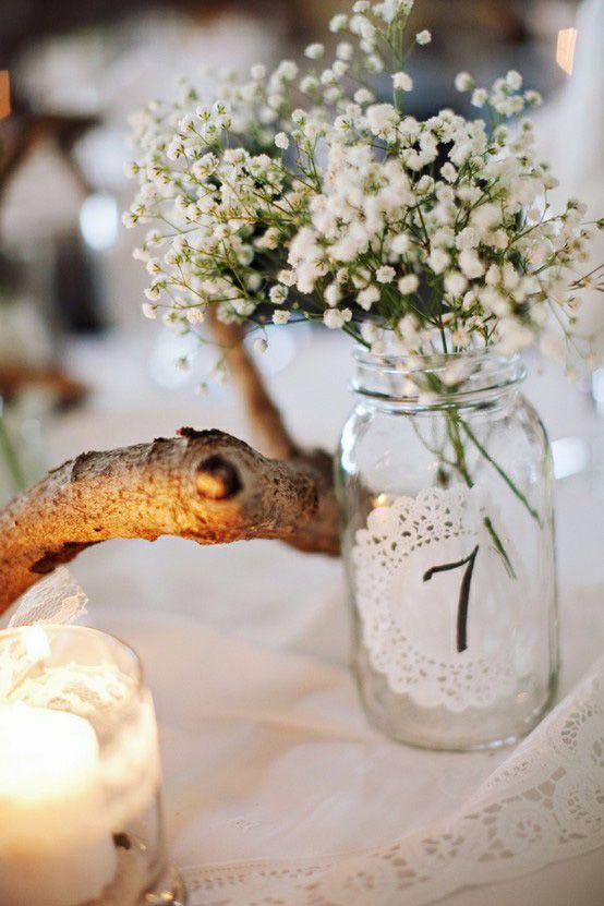 oh!myWedding: Decoración vintage con blondas de papel o tapetes de hilo / Doily Wedding