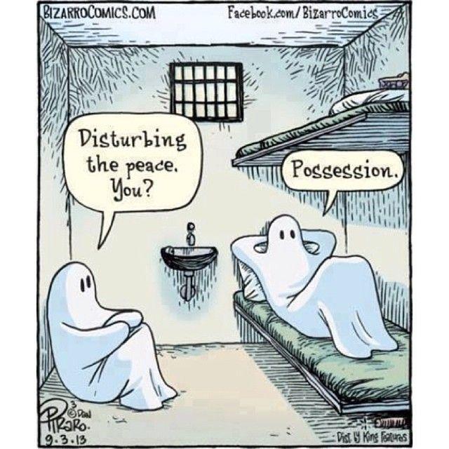 possession cool geek chic ghost tshirt cartoon great for halloween - Halloween Humor Jokes