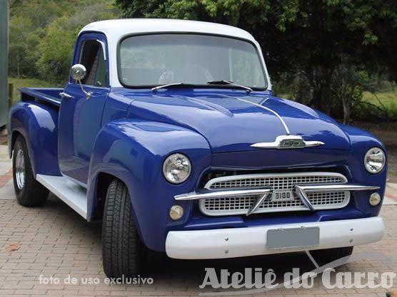 Gm - Chevrolet Brasil Pick Up 1962 Leve Customização, 1960 ...