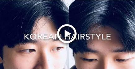 KOREAN MENS HAIRSTYLE TUTORIAL: 2 BLOCK / PARTING