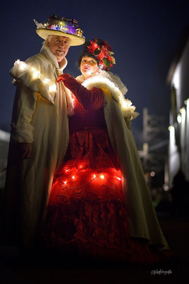 Foto maked by yoka Kerstvrouw christmus woman, fantasy, big dress  Korset simplicity 2621