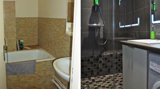 17 meilleures id es propos de salle de bain 3m2 sur pinterest petite sall - Cout d une douche a l italienne ...