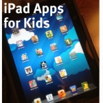 iPad apps to keep the kids entertained.