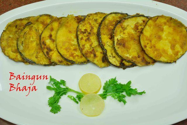 Be a baingan hater to a baingan lover with this delish #begunbhaja #appetizer #sidedish #bengalicuisine #crisp Recipe at: www.annapurnaz.in