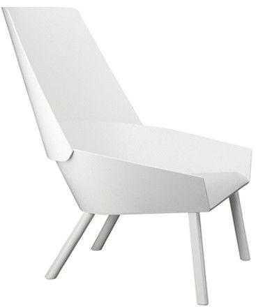 e15 EC03 Eugene fauteuil - wit