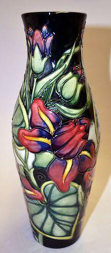 2556 best Moorcroft images on Pinterest   Jars, Pottery and Porcelain