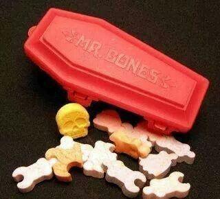 Mr Bones Candy