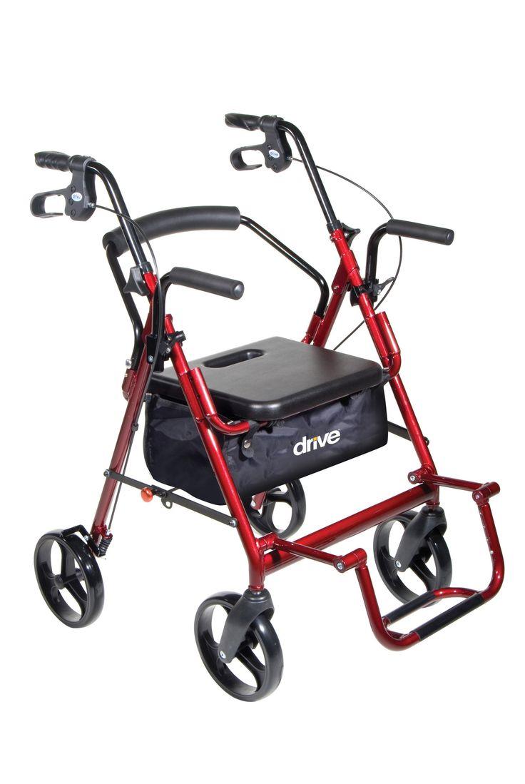 Drive Duet Rollator / Transport Chair