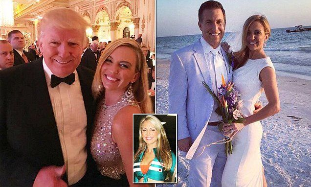 Former Miami Dolphin's cheerleader wanted 'Trump Divorce' | Daily Mail Online