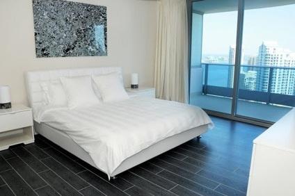 Bedroom of Epic Luxury Condo in Miami, Florida