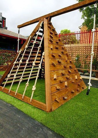 50 Fashionable Yard Playground Concepts For Children