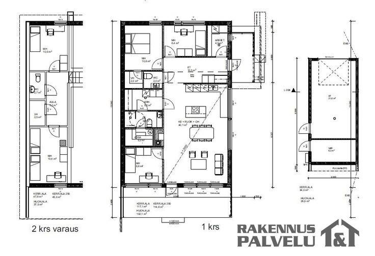 Myydään Omakotitalo 4 huonetta - Oulu Kivikkokangas Palloilijantie 9 - Etuovi.com 7648475