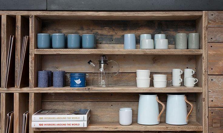 #menu #woodenshelf #cups #candles #taschen #restaurant #teapot #coffetable #LarsLarsLars