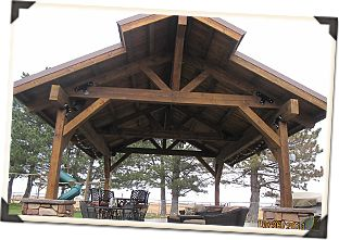 Wood RV Carport Plans | Visit Our Pavilion Gallery