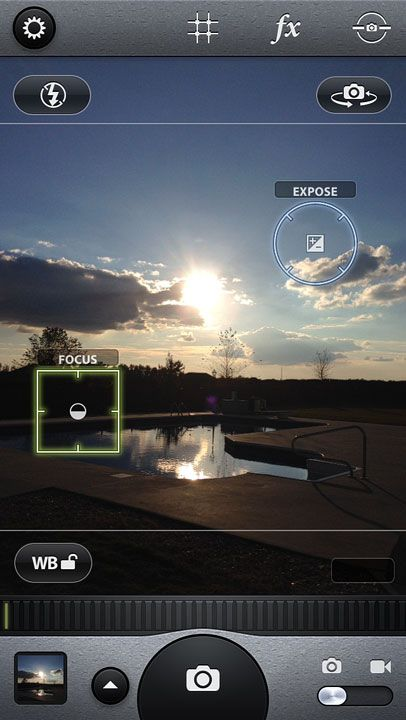 What settings to use for silhouette photos with a DSLR or iPhone