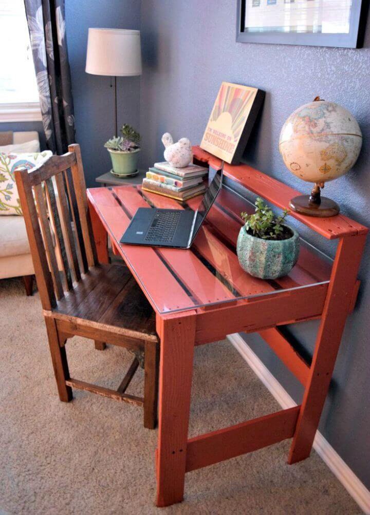 diy desk plans top 44 diy desk ideas you can make easily pallet rh pinterest ca