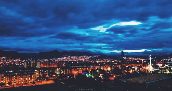 Bogotá al oriente. Andrew Perdomo