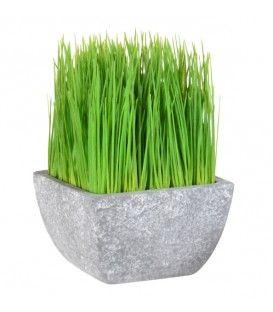 Fausse herbe dans un pot TERRE