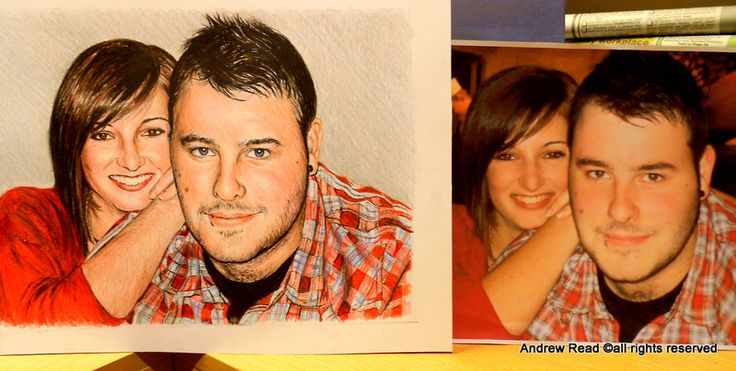 Commission for a client. The photo i worked from is on the right. Colored pencil drawing.