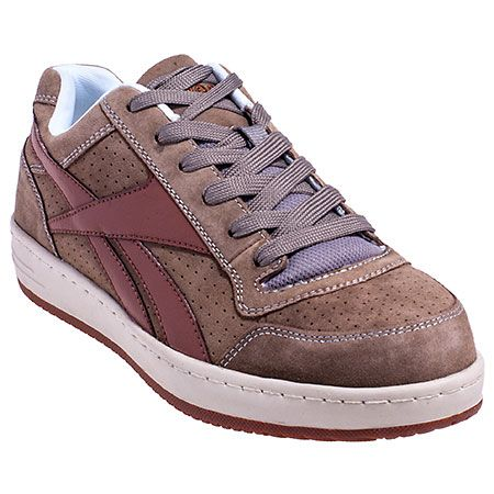 05290fea200786 Reebok RB1930 Mens Tan Soyay EH Steel Toe Skateboard Work Shoes ...