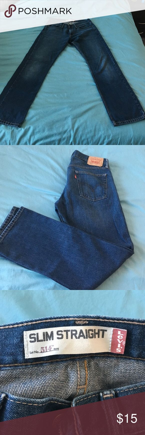 Men's Levi's 514 Slim Straight Jeans 32x32 and in great condition. Men's Levi's 514 jeans Levi's Jeans Straight Leg