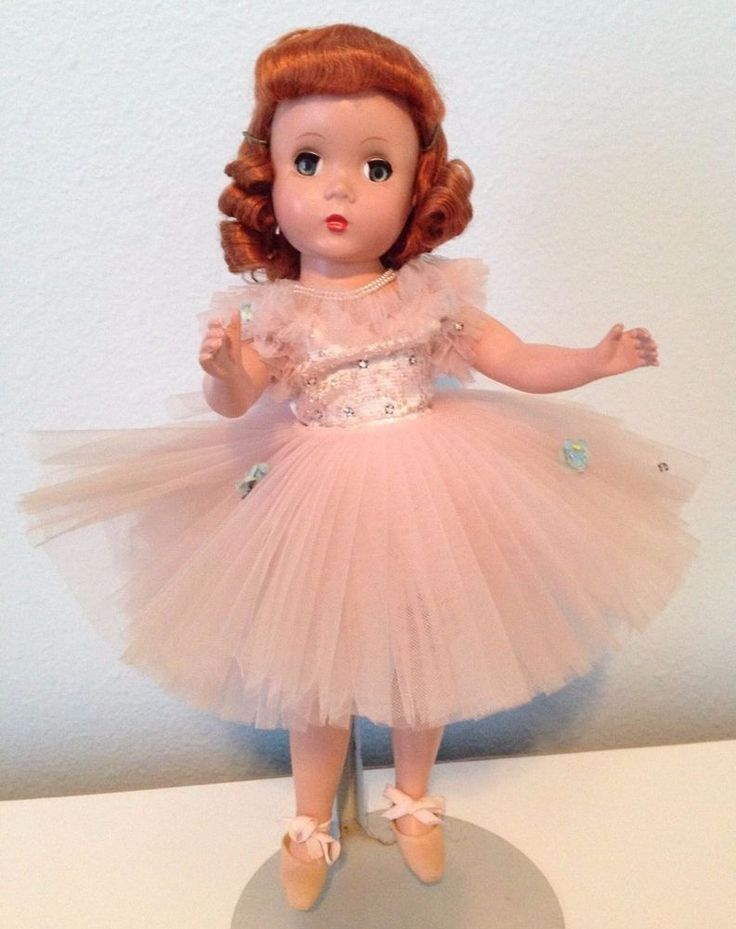 Rarest of the RARE! Madame Alexander Maggie-face Ballerina - unknown outfit! #MadameAlexander #DollswithClothingAccessories