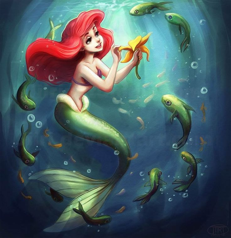 104 best images about mermaids with green tails on for The little mermaid fish
