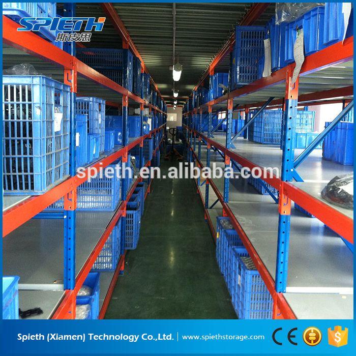 galvanized industrial storage longspan shelving