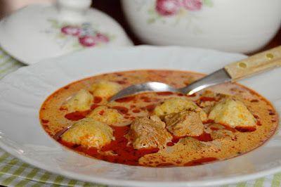 Citromhab: Tárkonyos raguleves krumpligombóccal