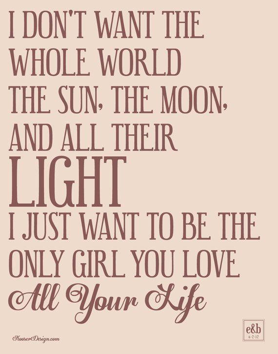 The Band Perry - All Your Life Lyrics - lyricsera.com