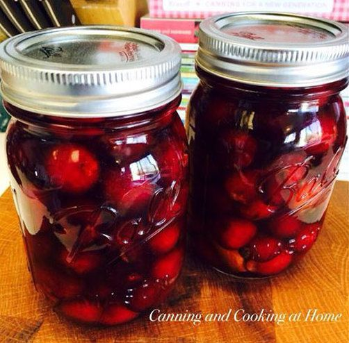 Homemade Maraschino Cherries - Canning and Cooking at Home