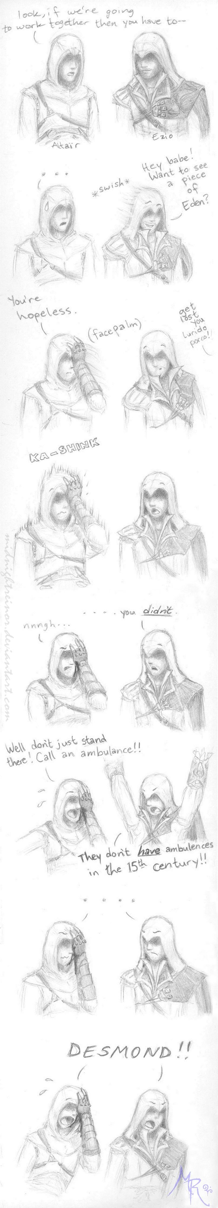 Altair FAIL by MidnightReinor.deviantart.com on @deviantART