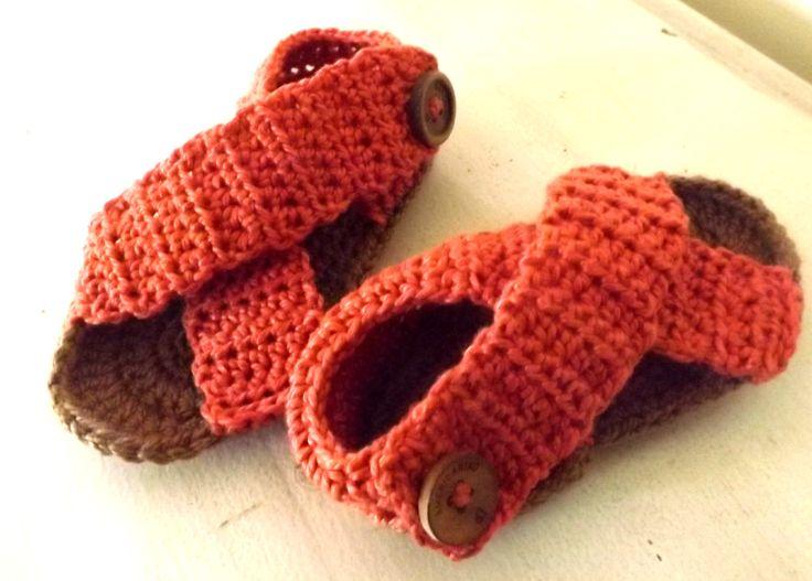 Sandalias para niño. Simples. Easy crochet