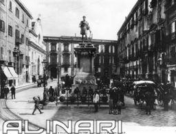 Piazza Bologni e Monumento di Carlo V a Palermo   Alinari Shop