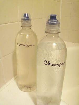 "baking soda shampoo and vinegar conditioner  (I haven't gone completely ""no poo"" but I do the baking soda route about once a week; haven't attempted the acv conditioner yet, but it's on my to-do list)"