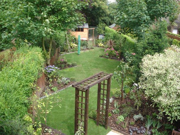 Perfect Garden Design Triangular Plot Small Daniel Lobb Gardens .