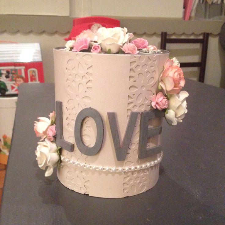 Boite de conserve customiser pour mariage