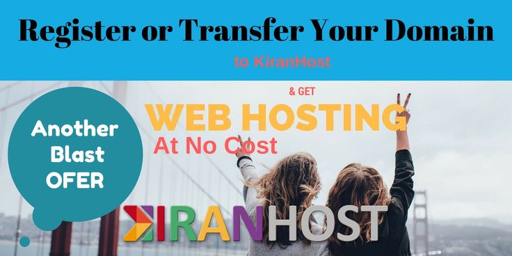 Register Your Domain and Get Free Hosting.