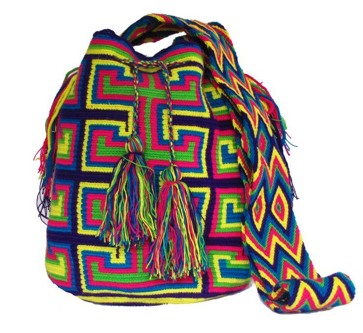 www.mochilaswayuu... www.facebook.com/Wayuuuuuu www.etsy.com/... ASK FOR OUR WHOLESALE PRICES whatsapp :+57 3203459226 $43 USD #wayuu #crochet #handmade #crochet #boho #bohostyle #bohochic #hippie #cartagena #colombia #colombiabags #art #wayuutribe #mochilaswayuu #mochilas#psychedelic#beachbag #Desertbag