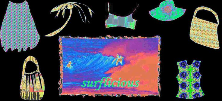 Snip And Create A Surf Fashion Collage - News - Bubblews