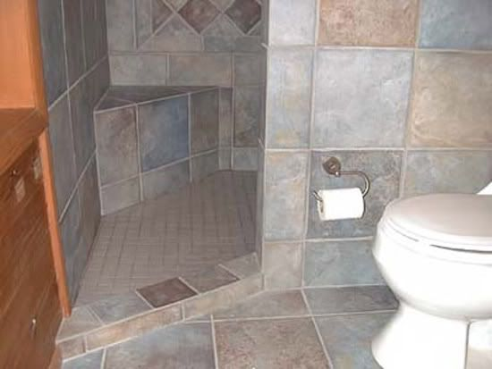 doorless shower ideas | Shower opening options - Ceramic Tile Advice Forums - John Bridge ...