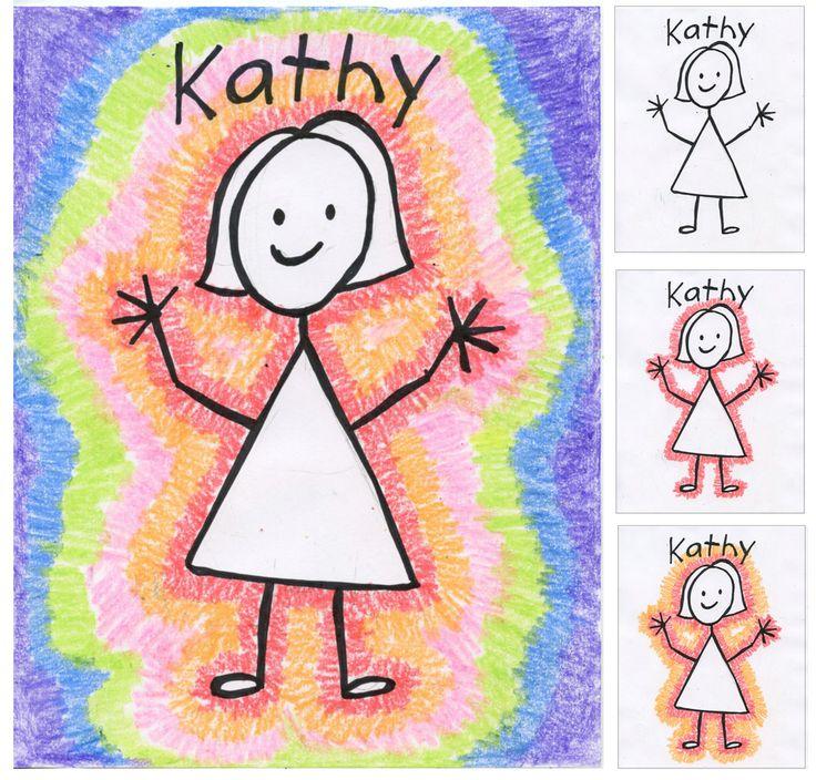 Art Projects for Kids: Back to School Stick Portrait