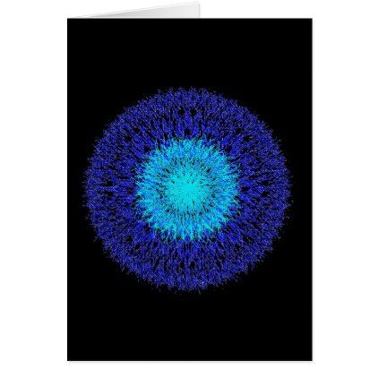 Fifteen Blue Lines Sparks Card - blue gifts style giftidea diy cyo