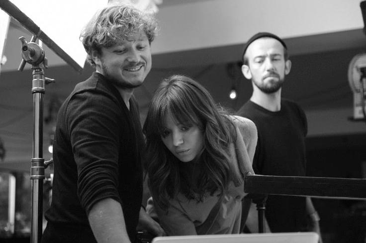 Backstage sesji Ani dla Limango <3    Ania Przybylska with Marcin Kempski, Limango Campaign backstage