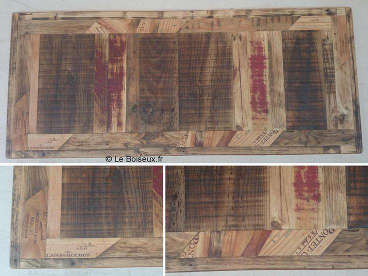 Le plateau bois brut non rabot caract ristiques for Plateau bois brut