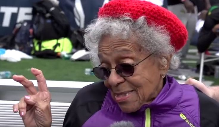Ida Keeling will celebrate her 101st birthday this month. On Saturday she celebrated something else -- a world record in the 100-meter dash.
