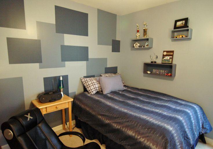 Teenager boy room teenage boy s room murals for Dormitorios estudiantes decoracion