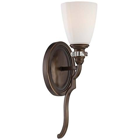 "Thorndale 17"" High Dark Noble Bronze Wall Sconce - #2W954 