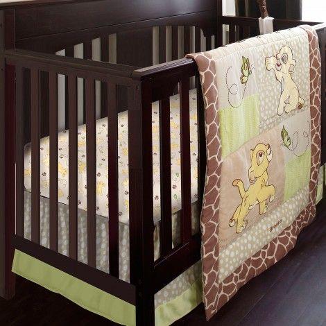Lion King 6 Pc Crib Bedding Set